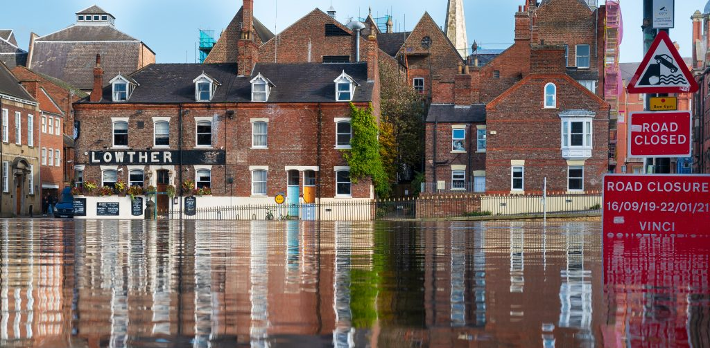 Flooding presents a clear danger
